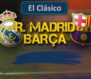 Apuesta de Fútbol – Liga BBVA – R.Madrid vs Barcelona